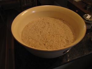 The dough has risen
